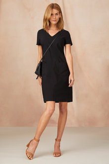 Capture Bengaline Pocket Detail Dress - 240821