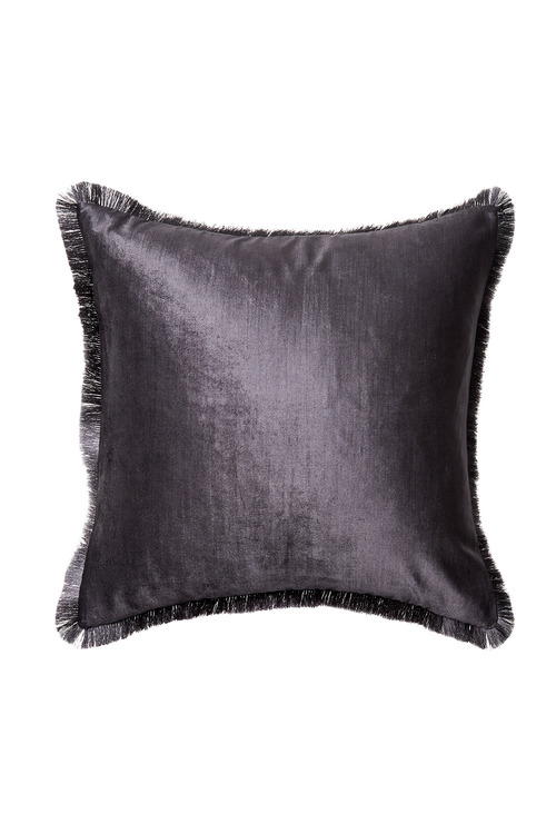 Berkeley Fringe Velvet Cushion