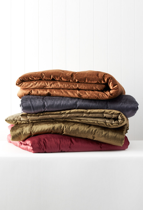 Berkeley Velvet Throw