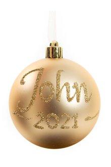 Personalised Christmas Bauble - 240832