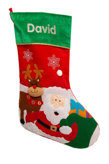 Personalised Felt Christmas Stocking - 240834