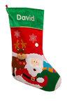 Personalised Felt Christmas Stocking
