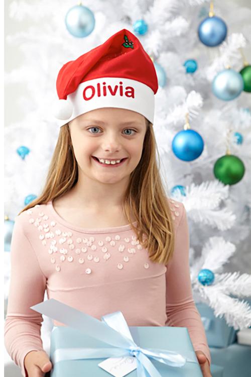 Personalised Felt Santa Hat