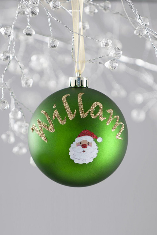 Personalised Novelty Bauble