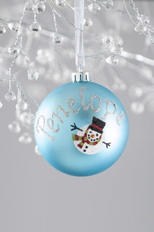 Personalised Novelty Bauble - 240842