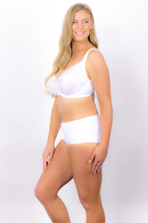Plus Size - Rose & Thorne Oh Natural Lace Brief