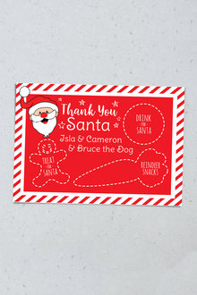 Personalised Night Before Christmas Placemat - 240849