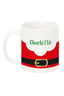 Personalised Santa Buckle Mug - 240861