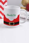 Personalised Santa Buckle Mug