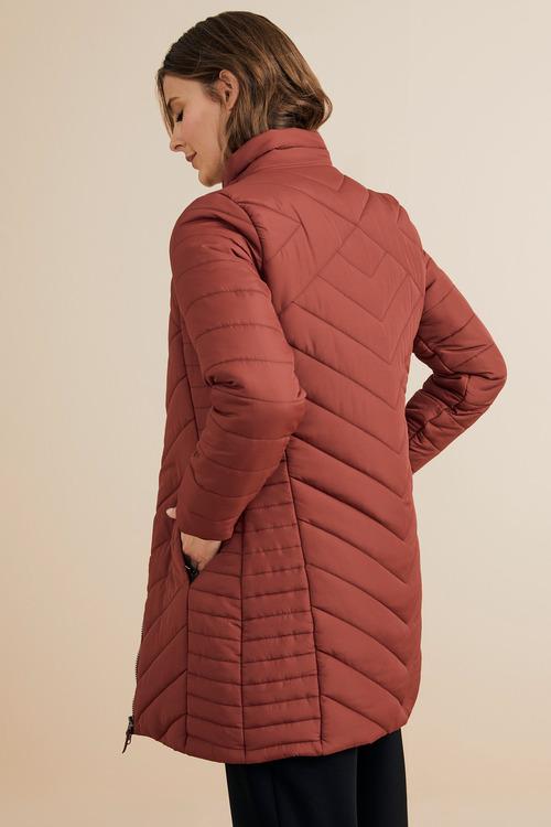 Capture Puffer Longline Jacket