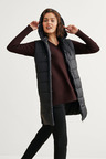 Capture Hooded Longline Puffer Vest