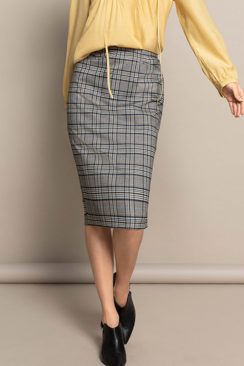 Capture Ponte Pencil Skirt