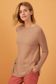 Capture Lambswool Pocket Sweater - 240884