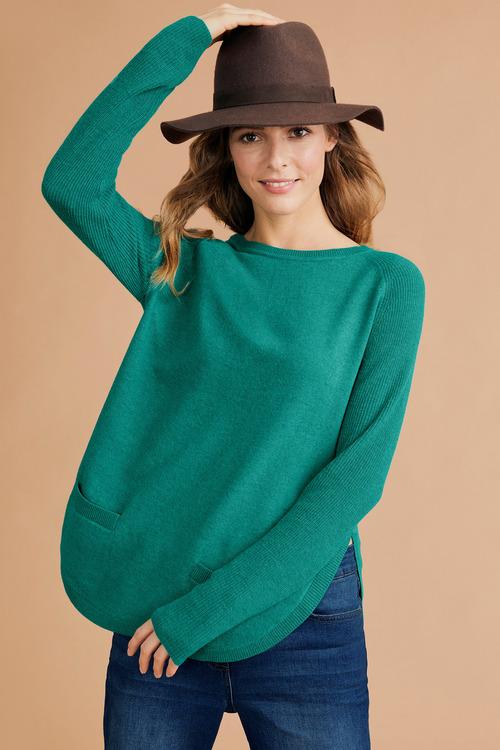 Capture Lambswool Pocket Sweater