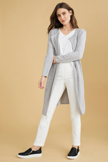 Capture Merino Textured Front Cardi - 240888