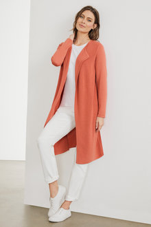 Capture Merino Textured Front Cardi