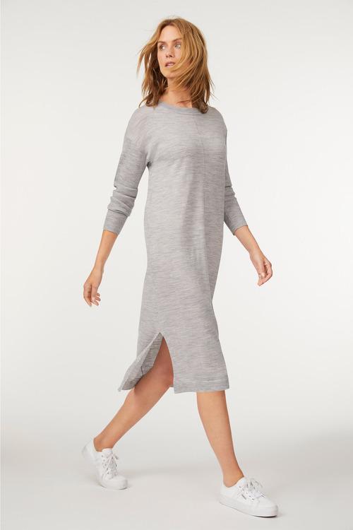 Capture Merino Side Split Dress