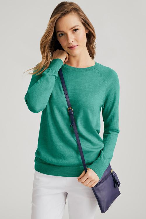 Capture Merino Crew Neck Sweater