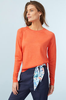 Capture Merino Crew Neck Sweater - 240893