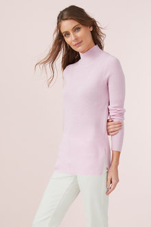 Capture Merino Pointelle Rib Sweater