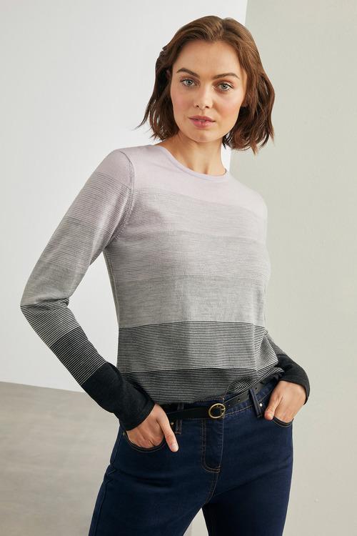 Capture Merino Stripe Sweater