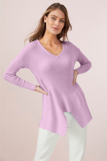 Capture Merino Rib Hem Sweater