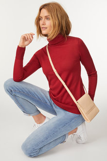 Capture Merino Roll Neck Sweater - 240897