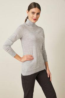 Capture Merino Roll Neck Sweater - 240897