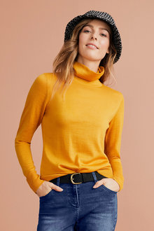 Capture Merino Roll Neck Sweater