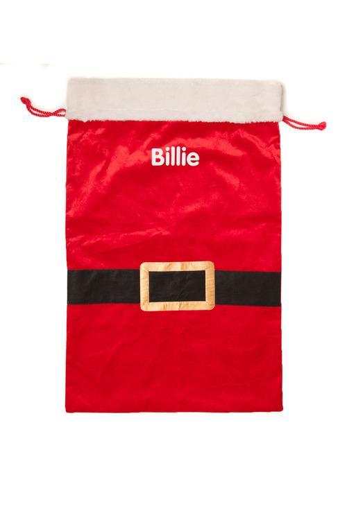 Personalised Santa Belt Sack