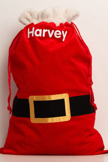 Personalised Santa Belt Sack - 240898