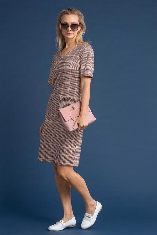 Capture Ponte V Neck Pocket Dress