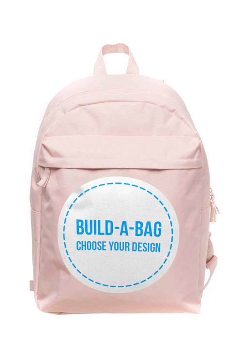 Personalised Pink Backpack