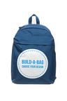 Personalised Navy Backpack