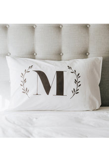 Personalised Monogrammed Pillowcase Set