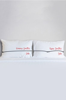 Personalised My Side, Your Side Pillowcase Set - 240943