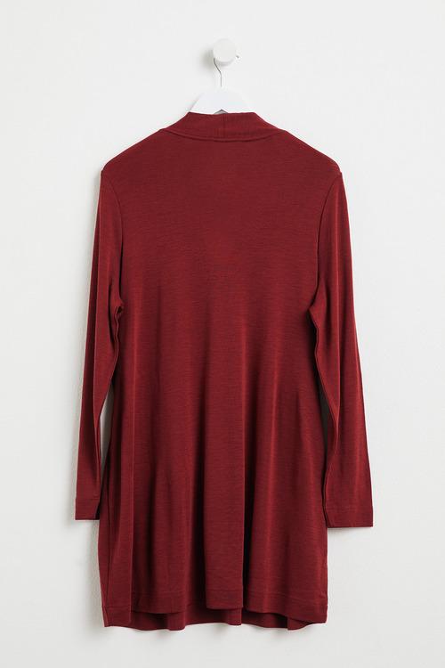 Plus Size - Sara Merino Button Sweater