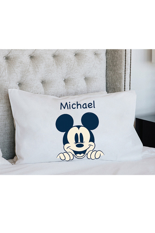 Personalised Mickey Mouse Pillowcase