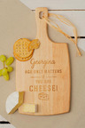 Personalised Age Only Matters Cheese Board