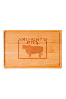 Personalised Bull Chopping Board