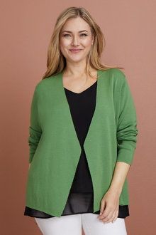 Plus Size - Sara Merino Short Cardi