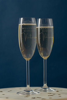 Personalised Birthday Champagne Flute - 240969