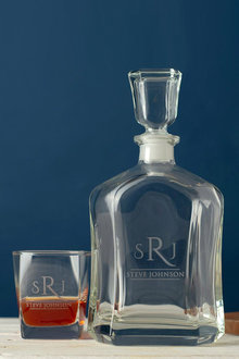 Personalised Decanter and Scotch Glass Set - 240970