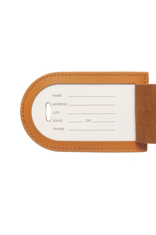 Personalised Monogram Luggage Tag