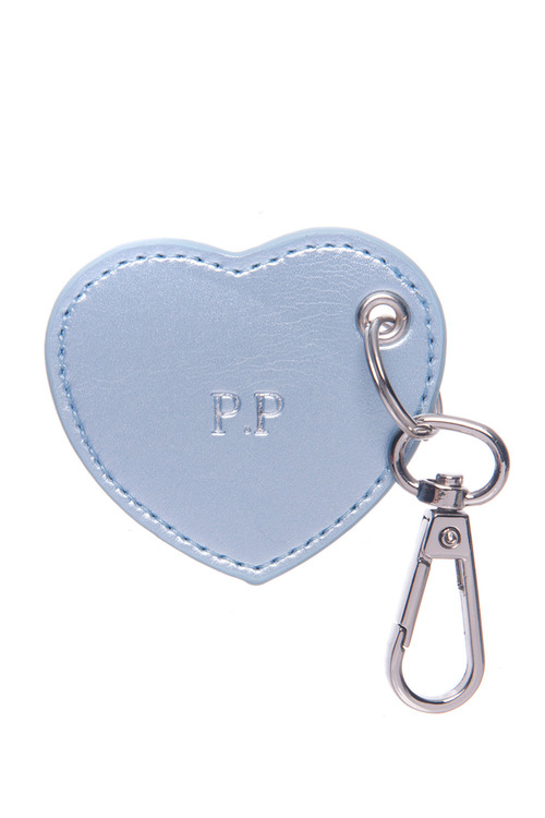 Personalised Monogram Heart Keyring
