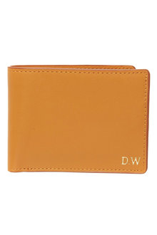 Personalised Monogram Slimline Wallet