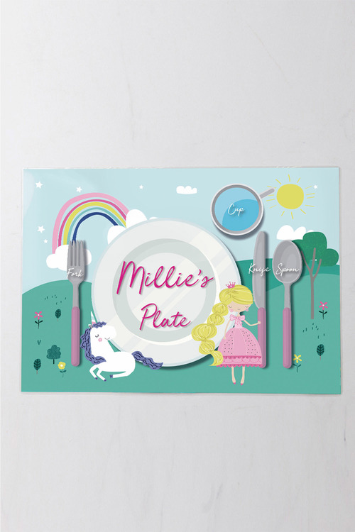 Personalised Reversible Kids Placemat