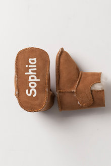 Personalised Baby Ugg Booties - 240993