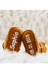 Personalised Baby Ugg Booties