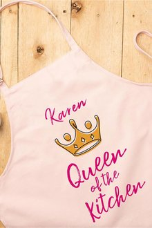 Personalised Queen of the Kitchen Apron - 240995